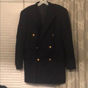 ✨Burberry men's navy blazer size 39 NWOT🌟